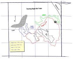 Namekagon River Map Skinnyski Com Ski Trails