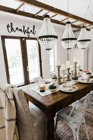 wonderful rustic dining table decor room awesome calm and airy