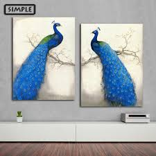 peacock wall art promotion shop for promotional peacock wall art