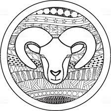 Astrology Sign Zodiac Sign Aries Stock Vector Art 504004030 Istock