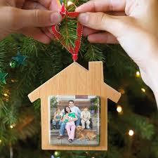 wooden new home photo ornament personalized ornaments hallmark