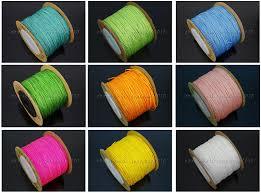 rattail cord satin silk braid rattail cord knotting thread rope beading jewelry