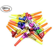 new year noisemakers 72 ct dj party blowers with noise squawkers party