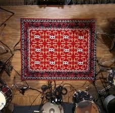 amazon com meinl cymbals mdr or drum rug oriental design video
