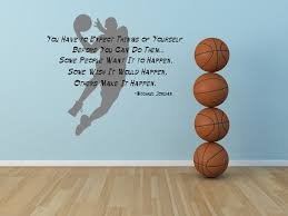 michael jordan inspirational quote basketball decal sticker