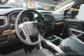 nissan titan cummins interior 2016 nissan titan xd interior at the 2015 detroit auto show