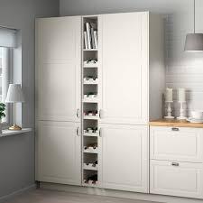 ikea kitchen storage for cupboards tornviken open cabinet white 9x14 5 8x40