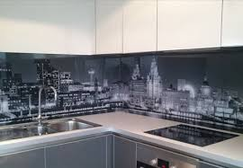 led digital kitchen backsplash kitchen glass backsplash with digital printing made of tempered