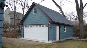 decor tips st paul two story garages with gabled roof and