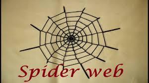 easy crochet spider web decoration for halloween youtube