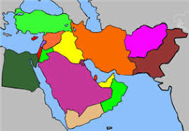 middle east map test interactive map