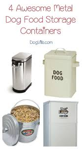 Large Rice Storage Container Top 4 Best Metal Dog Food Containers To Try Dogvills