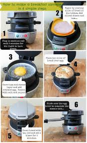 9 best Breakfast Sandwich Maker Recipes images on Pinterest