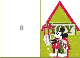 mickey u0027s merry christmas countdown calendar disney family