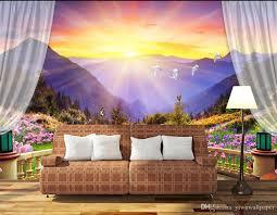 beautiful balcony mountain 3d tv wall mural 3d wallpaper 3d wall beautiful balcony mountain 3d tv wall mural 3d wallpaper 3d wall papers for tv backdrop