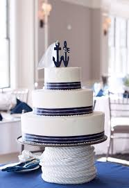 nautical anchor bride u0026 groom cake topper marine wedding navy