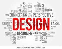 word design design word cloud concept stock vector 254820094