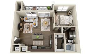2 Bedroom Condo Floor Plans 2 Apartments And Condos 3dplans Com