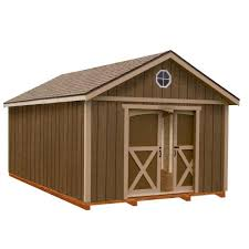 Outdoor Sheds Plans Handy Home Products Wood Sheds Sheds The Home Depot