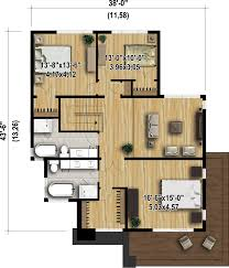 plans for a 25 by 25 foot two story garage modern style house plan 3 beds 2 50 baths 2370 sq ft plan 25 4415