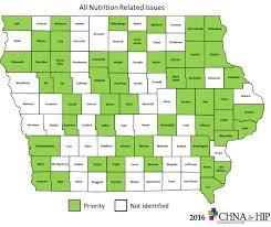 Iowa Counties Map Chna U0026 Hip Community Health Needs