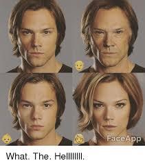 Meme Face App - face app what the hellllllll meme on me me