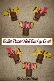 toilet paper roll turkey craft parenting patch