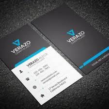 standard business cards horizontal double sided u2013 dawolfe