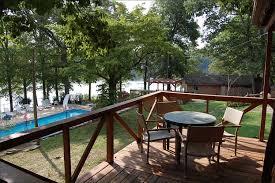 table top lake resorts cabin 1 hickory hollow resort table rock lake shell knob mo