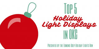 Christmas Lights In Okc Top 5 Okc Holiday Light Displays Metrofamily Magazine November