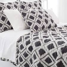Graphic Duvet Cover Naraya Grey Quilt The Outlet