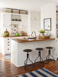 Small Kitchen Designs Pinterest 10 Ways To Open Up A Tiny Kitchen Kitchens Cottage Kitchens And