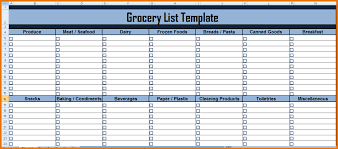 grocery list excel grocery list template in excel png scope of