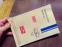 1981 cessna 152 information manual u2013 g u0027s plane stuff