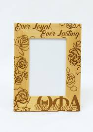 sorority picture frames deluxe sorority wooden frame geaux southern