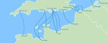 St Malo France Map by Ferry Map Uk Map Holiday Travel Holidaymapq Com