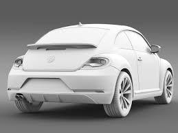 volkswagen beetle studio max 3d vw beetle pink edition concept 2015 by creator 3d 3docean