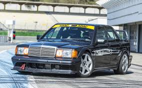 mercedes classic 190e evo iis just got a little less rare thanks to mercedes benz