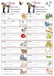 demonstratives that and those teaching 1st grade pinterest