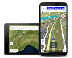 gps navigation apk be on road