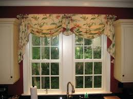kitchen bay window curtain rods other cafe curtains ideas best of