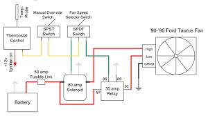 electric fan controller wiring diagram diagram wiring diagrams