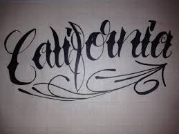 lettering california script
