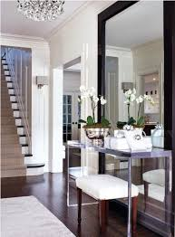 foyer mirrors designing home using mirrors to solve decorating problems