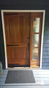 Sapele Exterior Doors Made Sapele Exterior Door With Glass Sidelight By