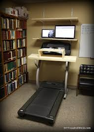 Diy Treadmill Desk Diy Treadmill Desk Walking And Working To A Better