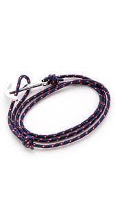 anchor wrap bracelet images Lyst miansai modern anchor wrap bracelet in blue for men jpeg