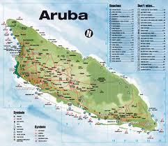 Southern Caribbean Map by Tourist Map Of Aruba Aruba Tourist Map Aruba Pinterest