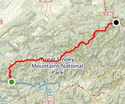 appalachian trail fontana dam to davenport gap carolina