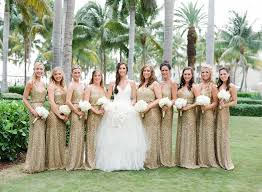 gold bridesmaid dresses 7 metallic gold bridesmaid gown concepts for your wedding inside